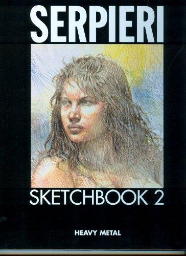 Serpieri Sketchbook: 2