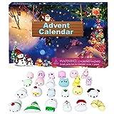 Calendario de Adviento 2021 – Calendario de cuenta regresiva para Navidad, 24 días, juego de juguetes sensoriales baratos para niños, adultos, alivio del estrés y la ansiedad