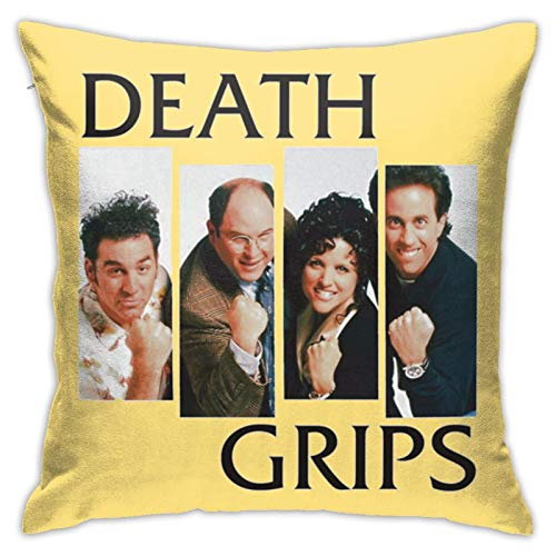 Loretta Mcdaniel Death Grips Best Hypoallergenic Throw Pillow Insert Sham Cushion Cover Square Pillowcase18 inches