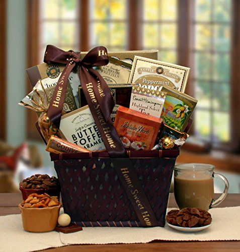 Home Is Where The Heart Is Housewarming Gift Basket