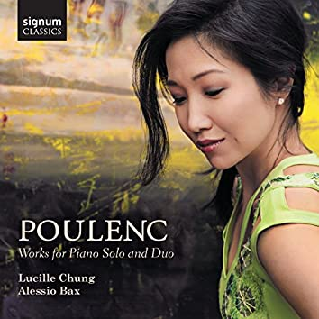 Poulenc: Works for Piano Solo and Duo