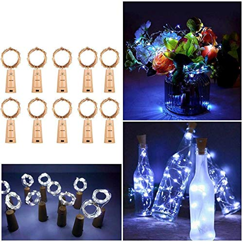 (50% OFF) 10 Pack Wine Bottle Lights with Cork $11.50 – Coupon Code