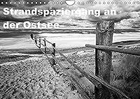 Strandspaziergang an der Ostsee (Wandkalender 2022 DIN A4 quer): Schwarzweiss-Aufnahmen entstanden am Strand von Darss und Ruegen (Monatskalender, 14 Seiten )