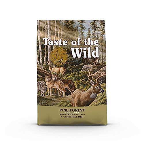 Taste Of The Wild pienso para perros con Venadon asado 12,2 kg Pine Forest
