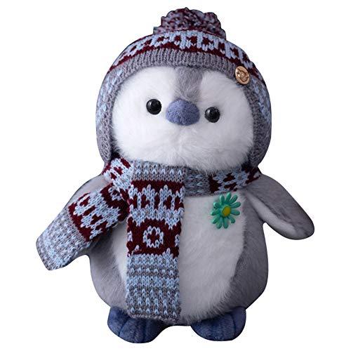 Animales de peluche de pingüino, lindo juguete para niños, peluche, muñeca de dibujos animados, regalo de...