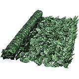 True Products Ivy 1x 3m artificiales hiedra Screening paneles en rollo privacidad valla de jardín–verde