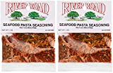 River Road Salt-Free No MSG Seafood Pasta Seasoning, 1 Ounce Bags (Pack of Two)