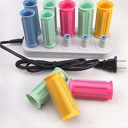 Rodillos para el cabello Rizadores para el cabello plásticos Rizadores para el cabello termostáticos electrónicos Rizadores para el cabello eléctricos Rizos grandes para calentar las olas