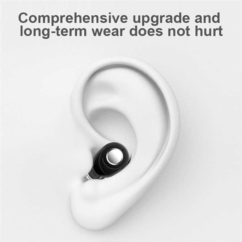 #N/A Bluetooth 5.0 TWS Bluetooth Earphones Wireless Bluetooth Headphones Sport Waterproof Bluetooth Headset Mini Earbuds - White Black