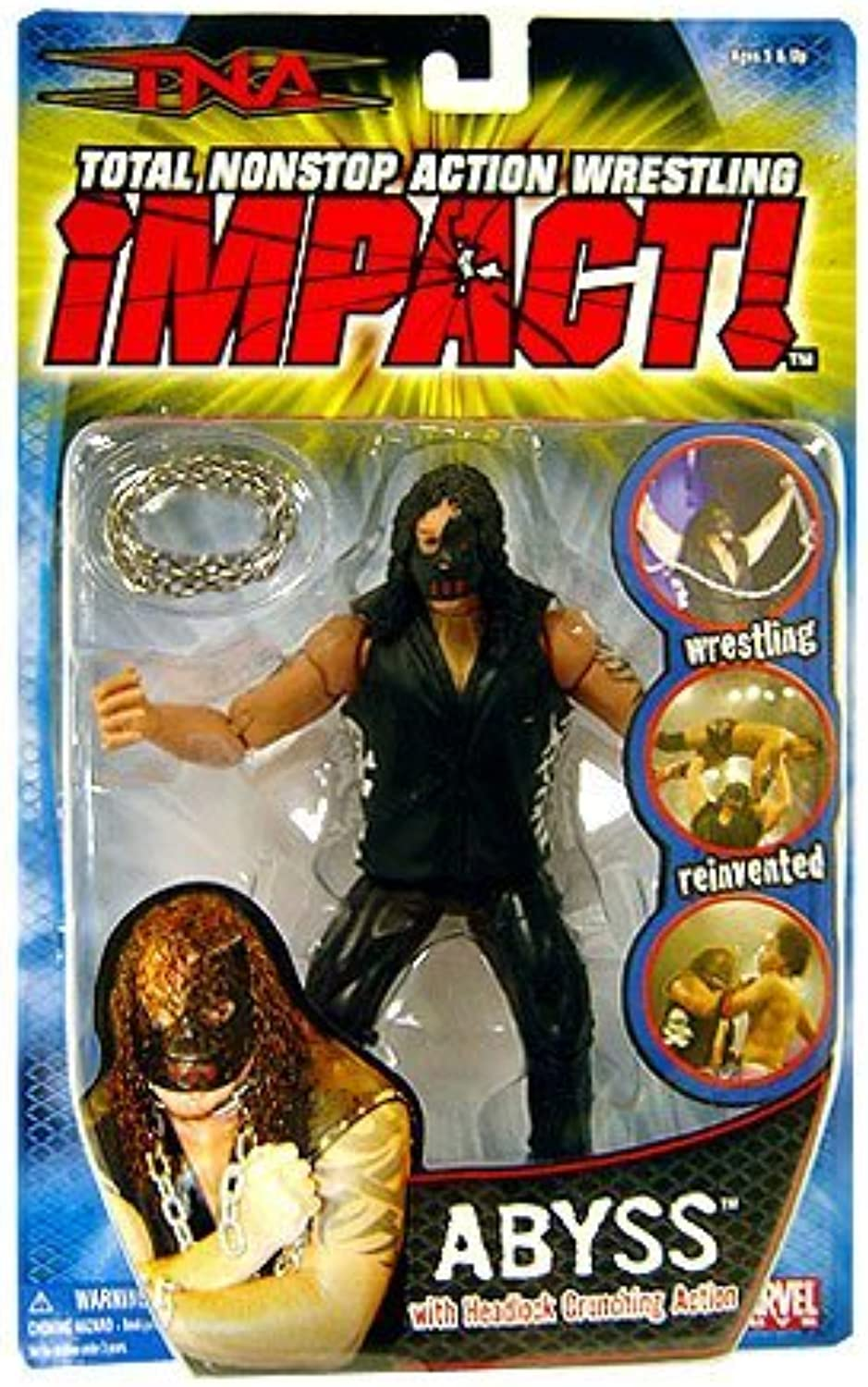 TNA Wrestling Series 1 Action Figure The Abyss by TNA