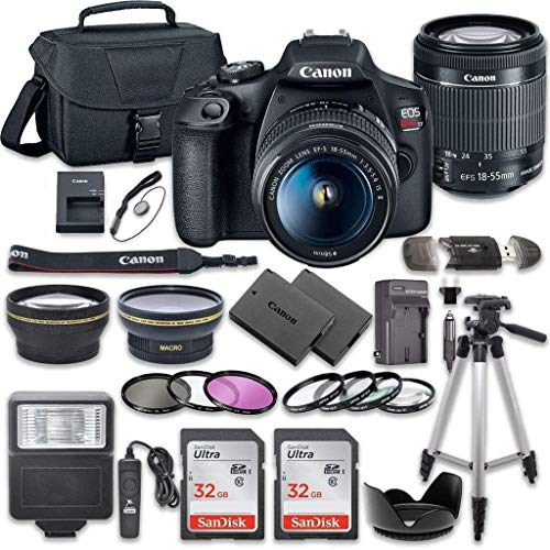 Canon EOS Rebel T7 DSLR Camera B...