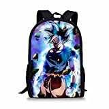 Deeprint Cool 3D Dragon Ball School Book Bag Printing Backpacks for Boys Girls (Dragon ball 13)