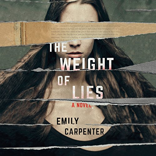 The Weight of Lies audiobook cover art