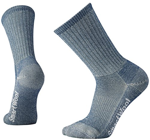 Smartwool Herren Hike Light Crew Socks, Blau (Denim), L