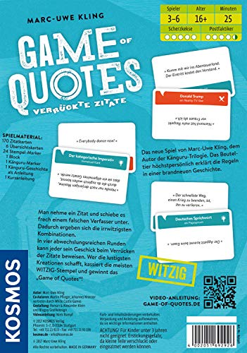 KOSMOS 692926 – Game of Quotes - 4