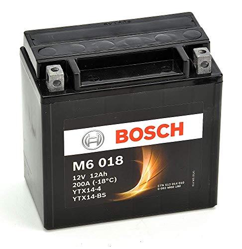 Bosch Automotive 0092M60180 Batterie Moto M6018 Agm 12A/H200A, 12V