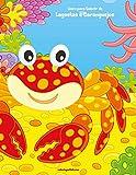 Livro para Colorir de Lagostas e Caranguejos: 1