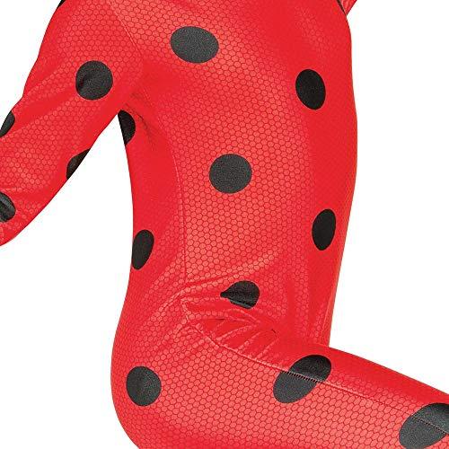 TF1licenze–i-620794s–Costume classico Ladybug Miraculous–Costume + Maschera–Taglia S