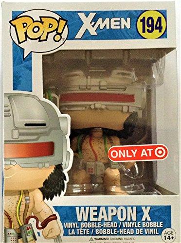 Funko POP! Marvel: X-Men: Lobezno Weapon x