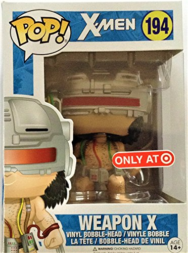 Funko- X-Men Marvel-Weapon X Figur, Mehrfarbig, 12604