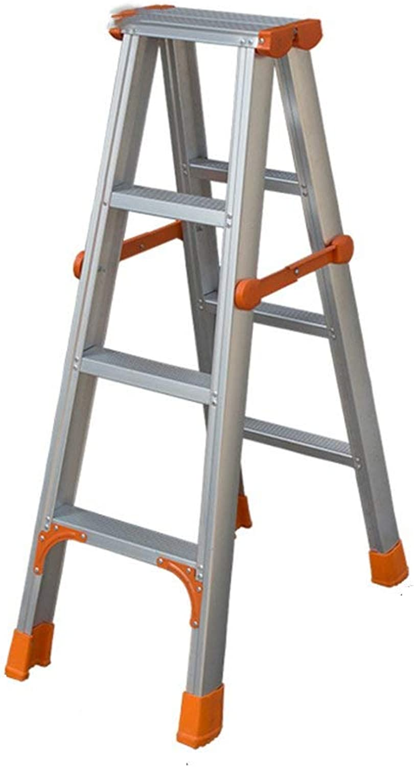 Isogea Step stools, Ladders Aluminum alloy fold ladder Foot ladder stool correct sitting posture (color    2) (color    3, Size   -)