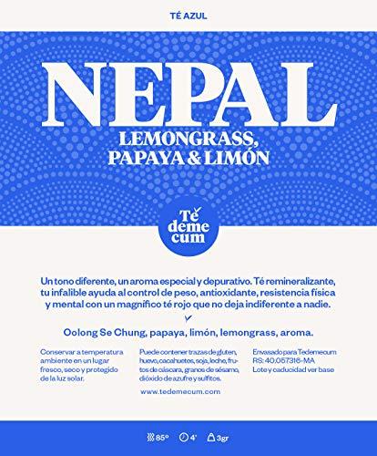 NEPAL Gourmet 250gr. Tè blu Oolong Se Chung, papaya, limone, citronella, aroma