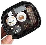 Juego de lentes de contacto de conejo/caja de almacenamiento/caja de socio, gris