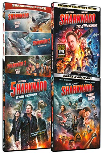 Sharknado Collection Pack (Sharknado / Sharknado 2: The Second One / Sharknado 3: Oh Hell No! / Sharknado 4: The 4th Awakens / Sharknado 5: Global Swarming / The Last Sharknado: It's About Time!)