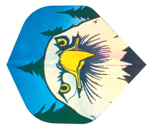 3 Stück Adler in 2-D Hologramm Flight 802906