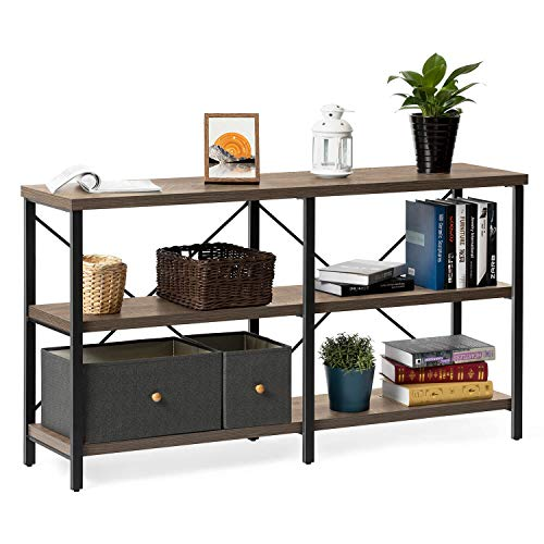 oak console tables for entryway - 6
