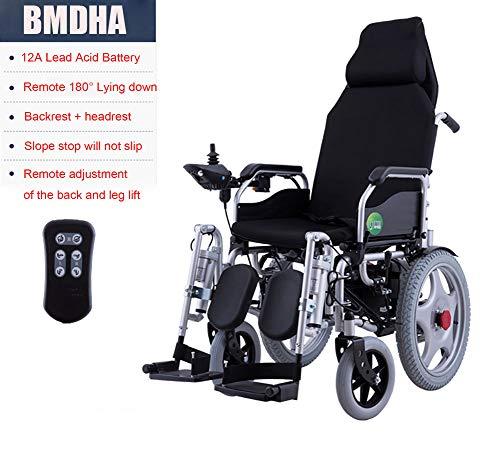 YAO rolstoel volledige intelligentie multifunctioneel geschikt voor oudere/gehandicapte mensen, volledig elektrische scooter - 12 V loodaccu