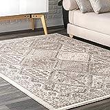nuLOOM Becca Vintage Tile Area Rug, 5' x 8', Beige