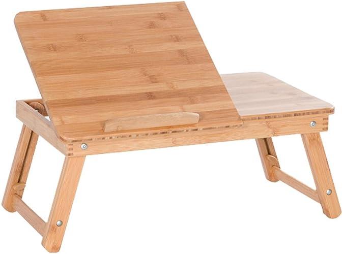 TangMengYun Table Pliante réglable de Taille de Tableau d'ordinateur Portable Se Pliant Bureau d'étude portatif de Fonction Multi (Couleur   B-63  35  22CM)