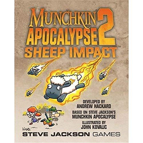 Steve Jackson Games Munchkin Apocalypse 2: Impacto de ovejas