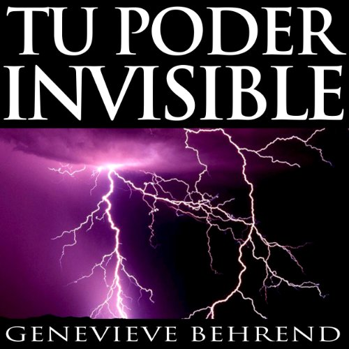 Tu poder invisible [Your Invisible Power, Spanish Edition] audiobook cover art