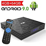 Android TV Box 9.0 with 4GB RAM 64GB ROM, EASYTONE T9 Android Box