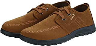 Padgene Men's Lightweight Comfortable Lace-up Casual Sneakers Shoes