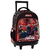 Spiderman Mochila Escolar, 31.65 litros, Color Rojo