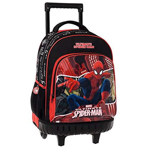 MARVEL Spiderman Set de Sac Scolaire, 43 cm, Rouge