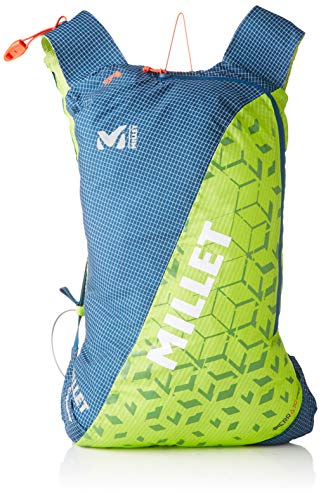 MILLET PIERRA Sprint 10 Saco de Dormir, Unisex Adulto, Acid Green/Poseidon, U