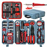 Hi-Spec 90 Piece Electronics & Soldering Repair Tool Set Kit with Multimeter. For PCBs, Electrical Circuits, Computers, Gadgets & Drones. Complete in Portable Tool Box Case