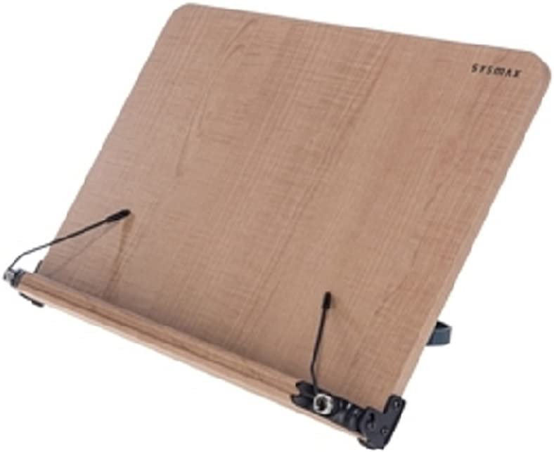 New Shipping Free Sysmax Natural Wood Book Stand Reading Stands Holder latest Laptop Angl