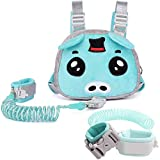 Child Leash Backpack Harness for Kid, 3-in-1, Anti Lost Wrist Cuff with Lock + 1.5m Link + Safety Walking Backpack for Girls, Boys