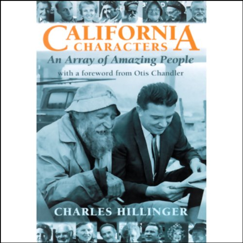 California Characters audiobook cover art