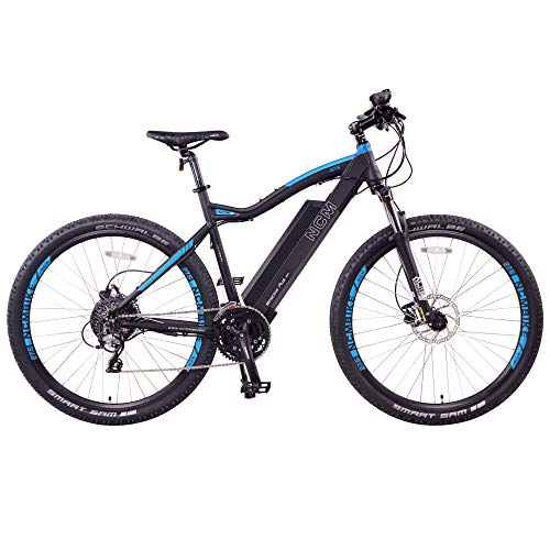 Moscow Plus Electric Mountain Bike 768 Wh 48V/16AH Matte Black 27.5'