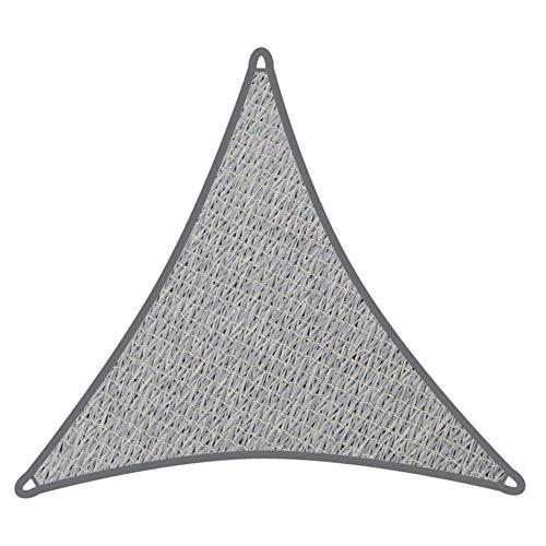 Coolaroo Sonnensegel, dreieckig, 5 x 5 x 5 m, Grau   340 g/m²