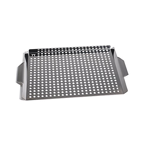 Outset QS71 Stainless Steel Large Grill Grid, Handles