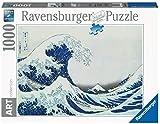 Ravensburger- The Arte Wave Off Kanagawa 1000 Piezas, Puzzle Art Collection (16722)