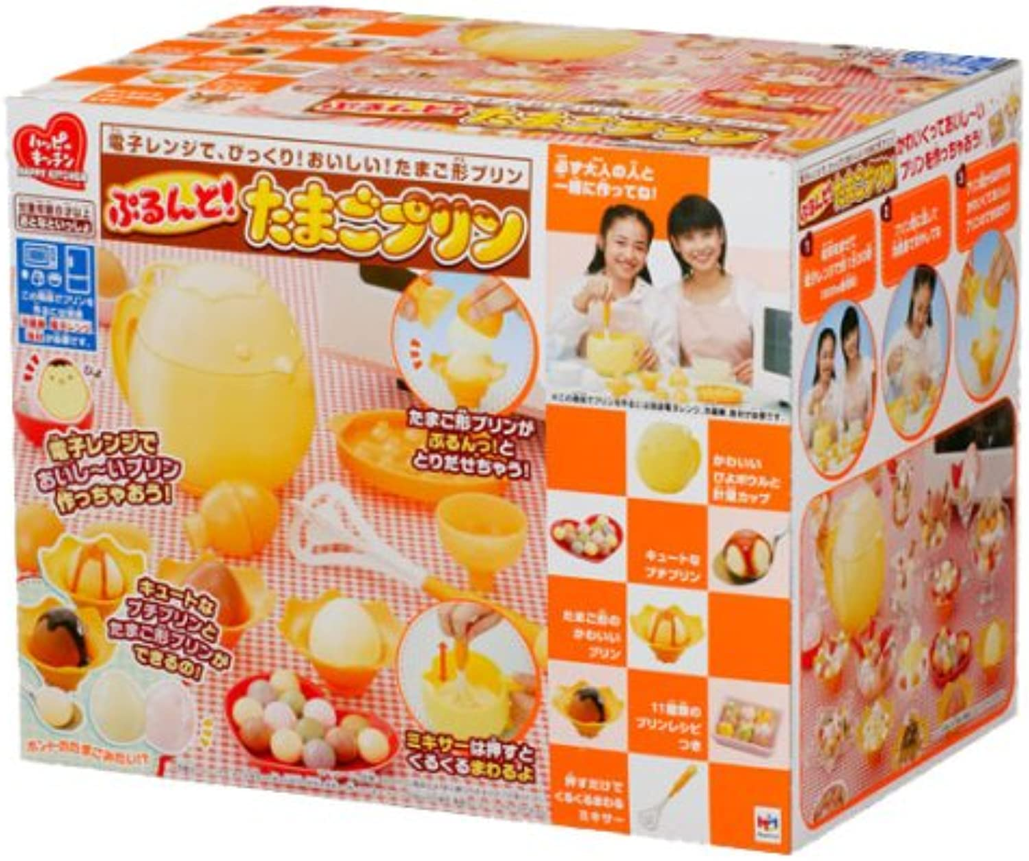 Happy and kitchen Puru do  Egg pudding (japan import)