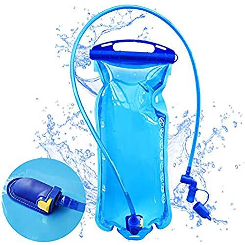 Jackallo Sac de vessie d'hydratation 2L, Sac à Dos d'hydratation sans BPA réservoir d'eau étanche Sac d'eau pour randonnée vélo Ski Course